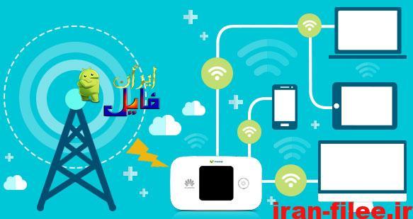 چگونه با بارکد وای فای رمز Wifi را در اندروید به اشتراک بگذاریم؟