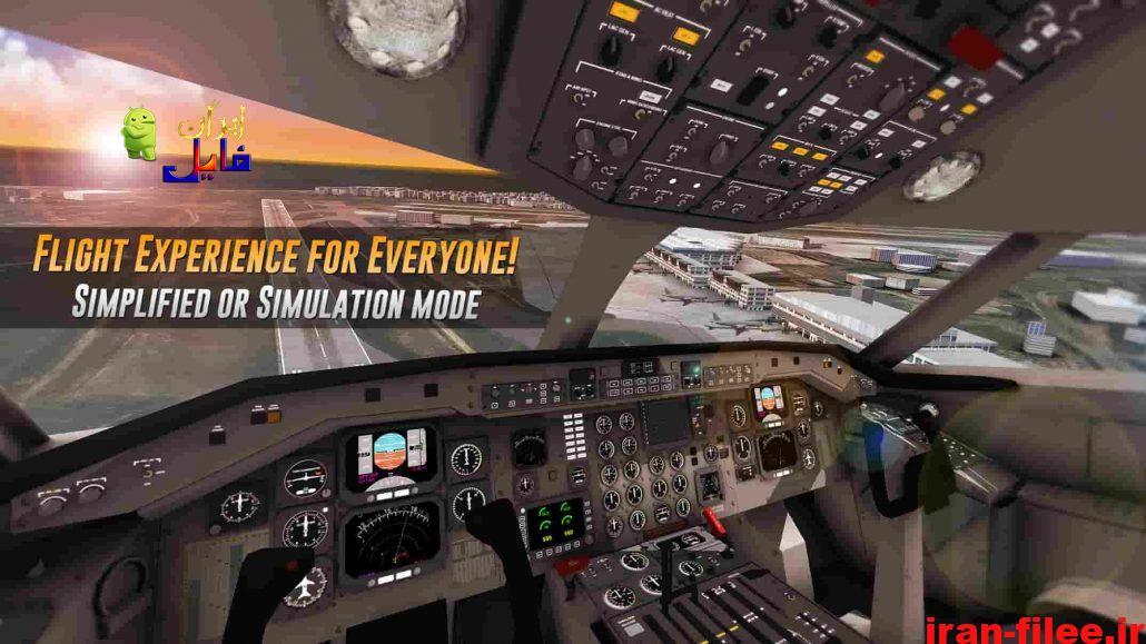دانلود بازی Airline Commander 1.3.3 شبیه ساز خلبانی برای اندروید