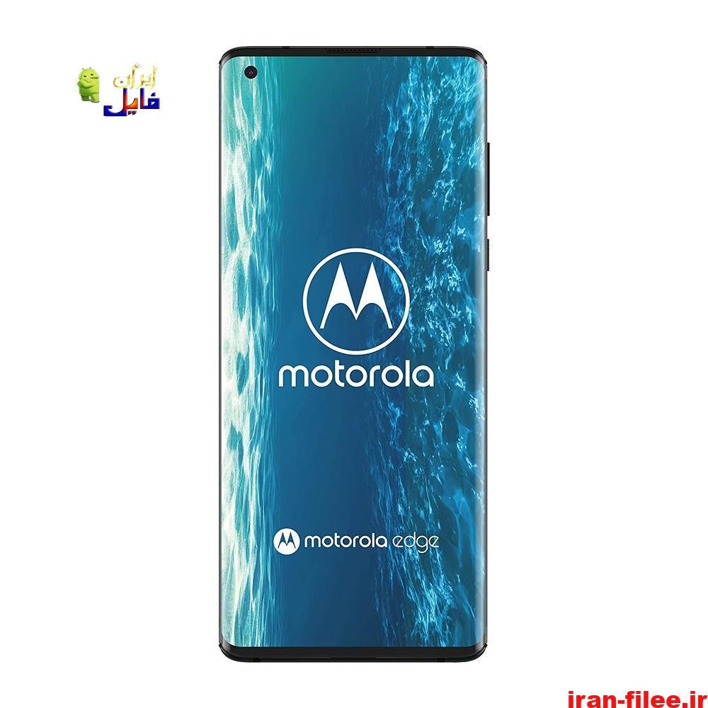 دانلود کاستوم رام موتورولا Motorola Edge اندروید 10